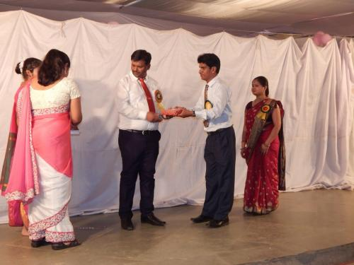Reader of the year2015-16 Mr. J.K. Chandrakar (Staff)